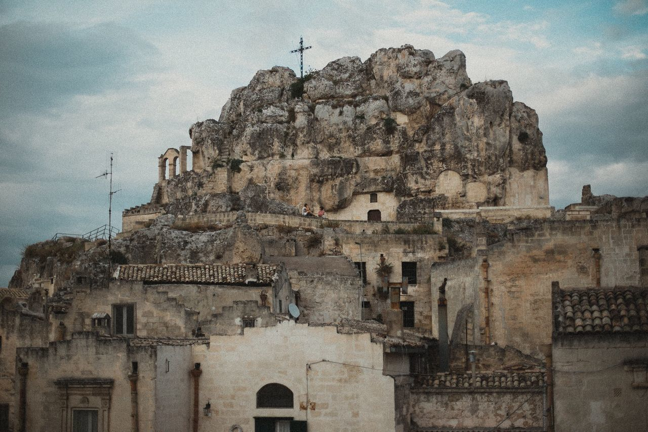 architecture, built structure, building exterior, history, sky, religion, place of worship, spirituality, low angle view, day, old ruin, no people, cloud - sky, outdoors, ancient, travel destinations, ancient civilization