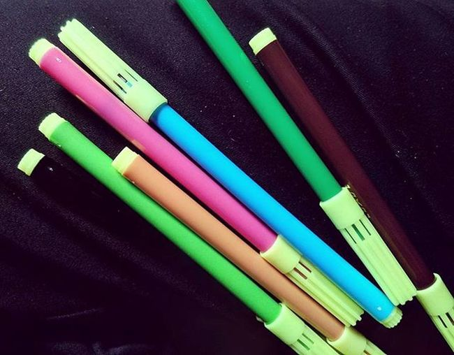 Remember? HDR Unedited Childhoodthing Sketchpens