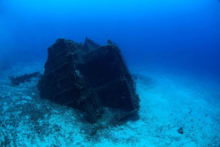 Ship Wreck Sea