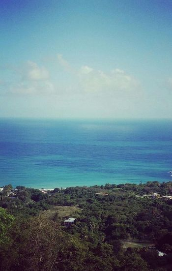 Vista al mar en humacao Puerto Rico Relaxing First Eyeem Photo