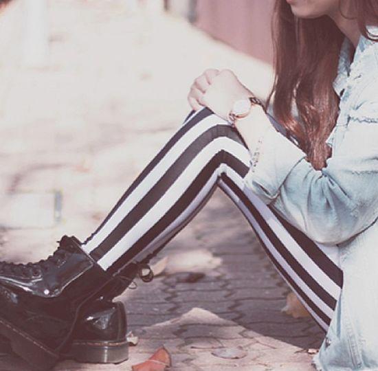 Fashion Doc Martens Leggings Love