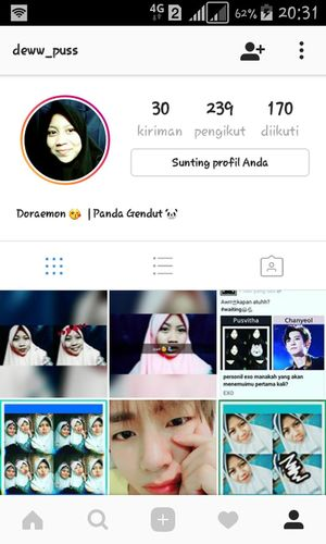 Follow my instagram👭