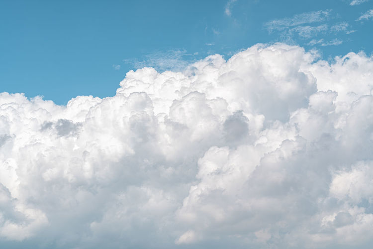 Low angle view of clouds in sky