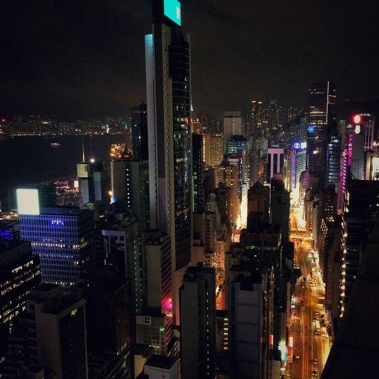 Rooftops HongKong Wanchai Night Nightphotography IPhoneography Rooftops Neon Lights Travel Photography Look Around