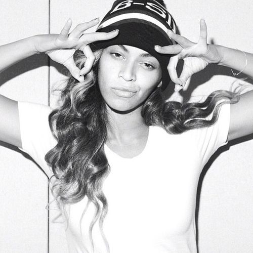 Coolest chick out! #beyonce