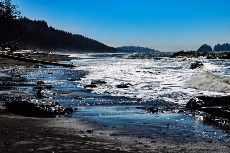 Rialto Beach Olympic National Park Water Scenics - Nature Beauty In Nature Nature Tranquility Tranquil Scene Cold Temperature No People Sea Beach Beachphotography