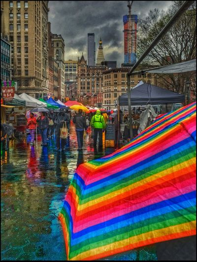 Wet Stuff #16 - 4/6/16 @ Farmers Mkt. Union Sq., NYC Creative Use Of Selections & Adjustments In Ps CC2016 EyeEm Best Shots EyeEm Street Photography, NYC IPhone Adjustments W/ Snapseed IPhoneography 6s Malephotographerofthemonth Multi Colored Showcase April The Photojournalist – 2016 EyeEm Awards The Street Photographer - 2016 EyeEm Awards
