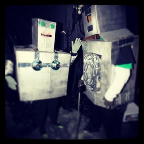 Holloween Robots The Humans Are Dead