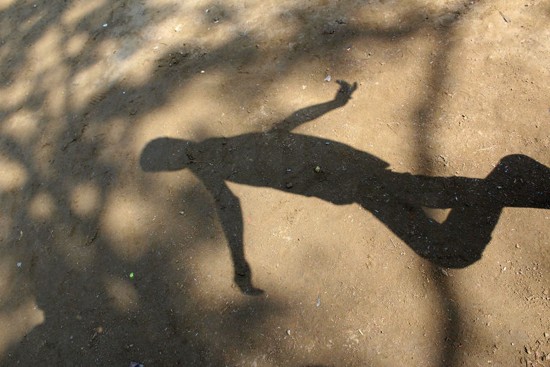 Man Day High Angle View Outdoors People People Shadow Shadow Sunlight