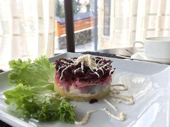 Salad Fish Vegetable