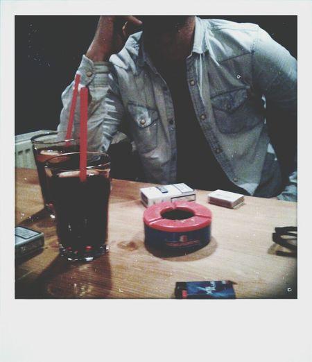 Friend Drinking Polaroid ??