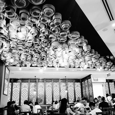 DimSum Steamers Interior Decorations Chinese Restaurant Streetphotography Sg_streetphotography Singapore