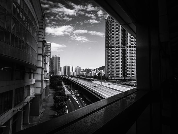 City Skyscraper Cityscape Railroad Track Subway Train Rail Transportation Urban Skyline Sky Architecture Building Exterior The Architect - 2018 EyeEm Awards