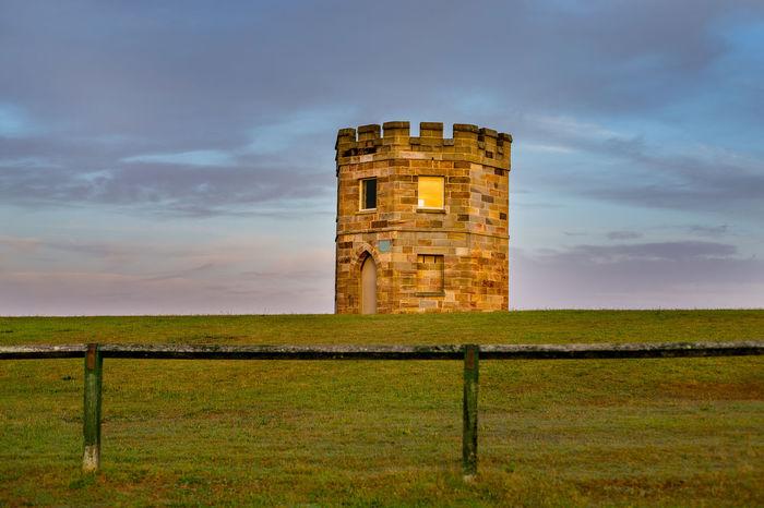 La Perouse, Sydney Australia. Architecture_collection Australia Castle Early Morning Grass History La Perla La Perouse Sky Sunrise Sydney