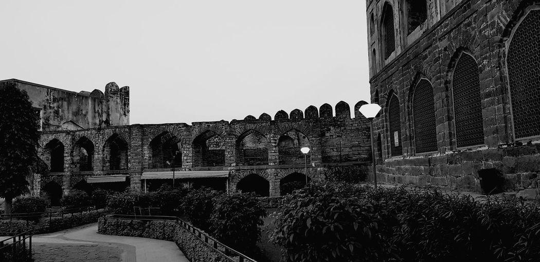 قلعة حيدر اباد بالهند History Architecture Outdoors Travel Destinations Built Structure Day No People