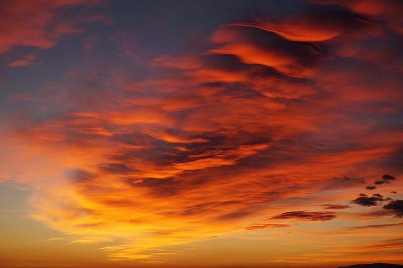 Sunset Almería SPAIN No Filter Colorful Sky