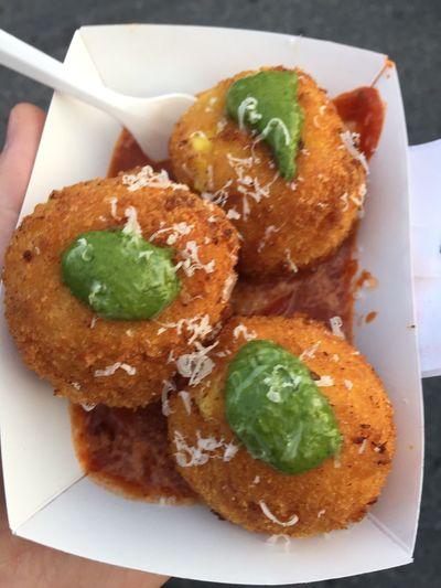 Mac and cheese balls Foodspotting