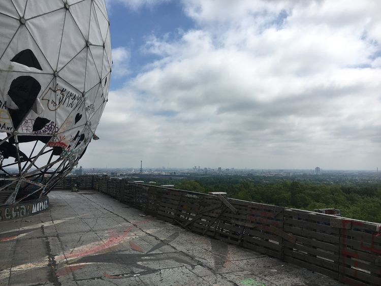Architecture Built Structure City Cloud - Sky Communication Dome Graffiti Nature No People Outdoors Radar Sky Tower