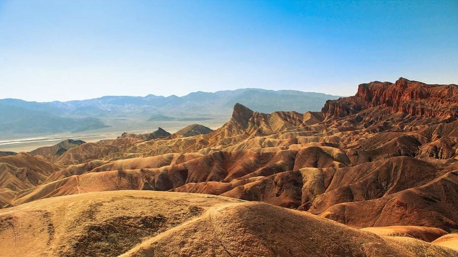 Tranquil Scene Mountain Rock Formation Travel Destinations Landscape Death Valley California USA Travel Geology Nature Beauty In Nature Scenics