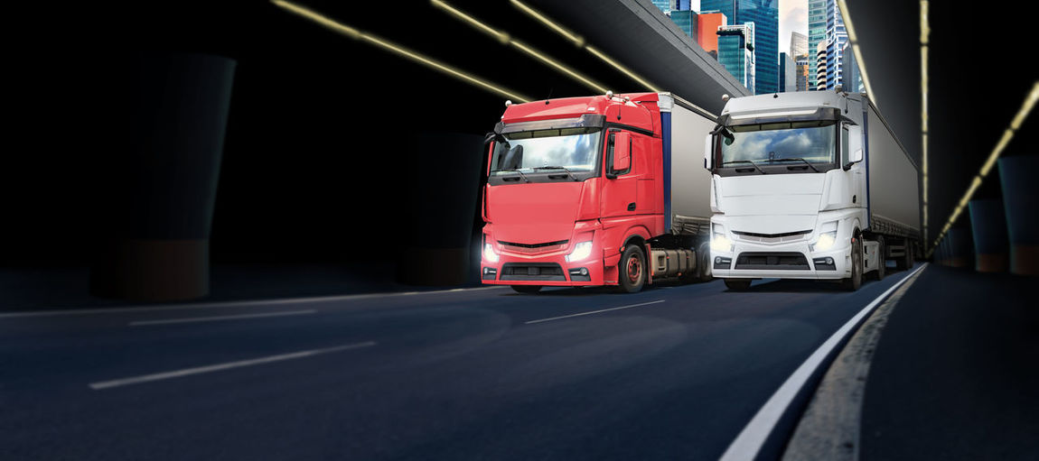a truck on the road, symbolic picture for cargo and transportation Built Structure Business, Car, Cargo, Driver, Driving, Freight, Loading, Lorry, Motorway, Moving, Road, Road, Traffic, Trailer, Transport, Transportation, Travel, Truck, Vehicle, Day Freight Transportation Illuminated Land Vehicle Mode Of Transport No People Outdoors Road Transportation