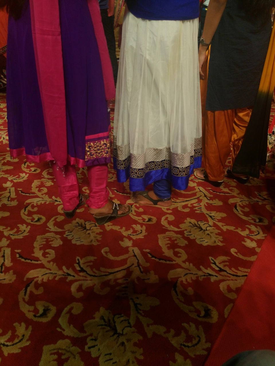 celebration, low section, human leg, indoors, wedding, medium group of people, real people, life events, women, men, bride, day, people