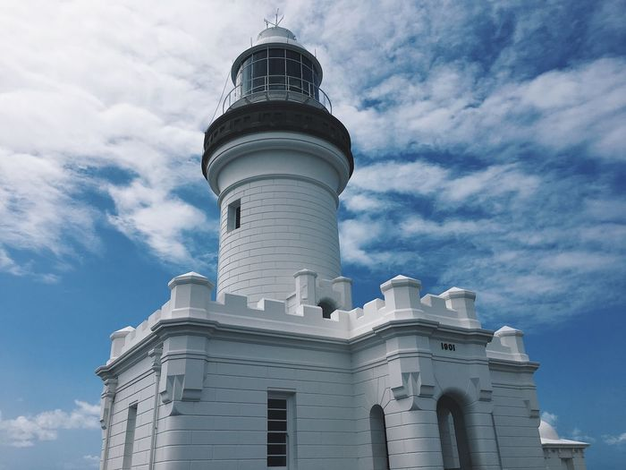 Byron Bay Architecture Building Exterior Low Angle View Built Structure Sky Lighthouse Travel Destinations
