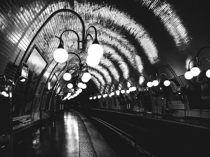 Railroad Station Indoors  Rail Transportation Ceiling Railroad Station Platform Transportation Train - Vehicle Railroad Track Illuminated Public Transportation No People Clock Day EyeEm Best Shots From My Point Of View