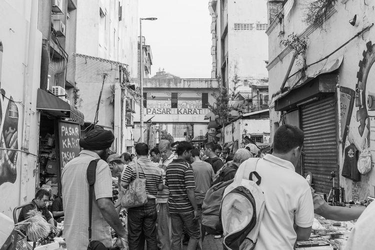 Kuala Lumpur October 29, 2016 Black And White China Town Flea Market FUJIFILM X100S Kuala Lumpur Mahfuz Jaffar Pasar Karat People Petaling Street Street Life Street Photographer-2016 Eyem Awards Street Photography The Week On EyeEm