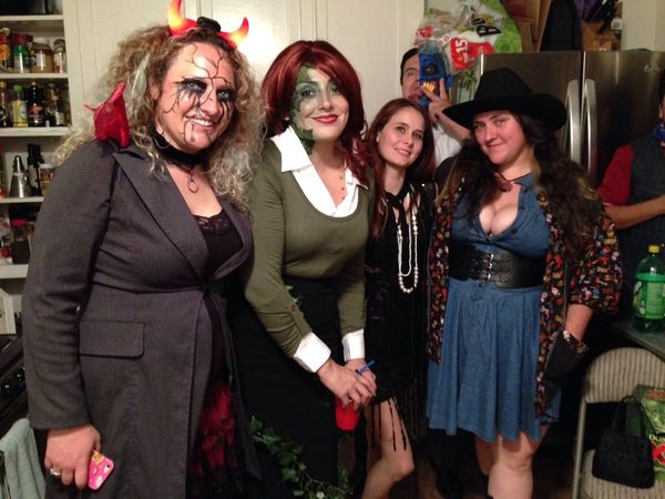 Halloween Gather & Celebrate The Ladies Enjoying Life