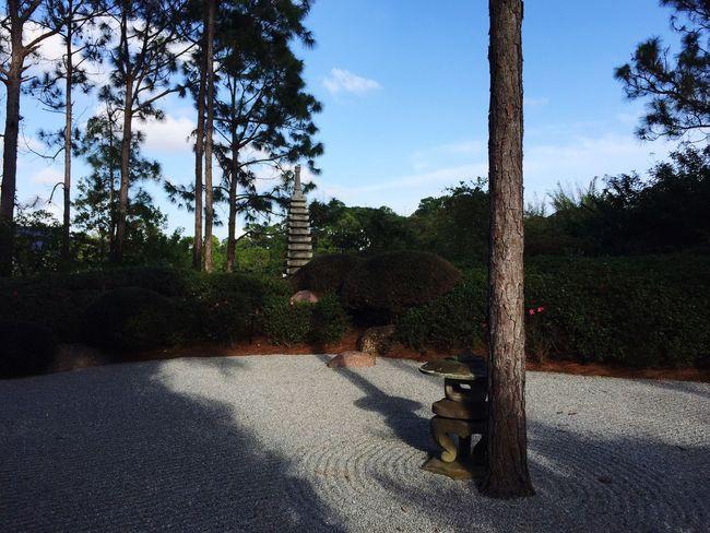 Zen garden at Morikami Japanese Garden in Florida Zen Garden Morikami Relaxing IPhoneography Iphoneonly IPhone Iphonephotography