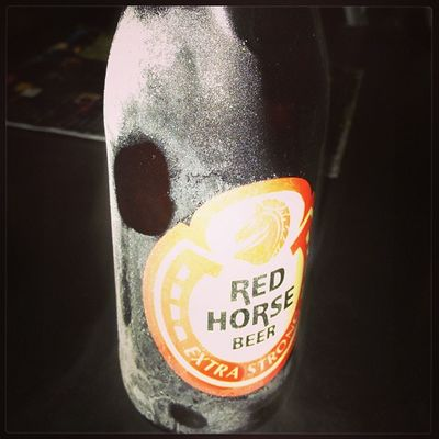 Barchoy . Beer below zero. BBZ Redhorse Beer philippines