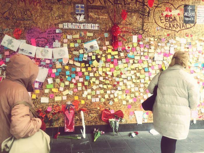 Stockholm Attack Ahlens Terrorist Attack Grief