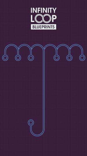Infinity Loop Infinity ∞ Umbrella ☔