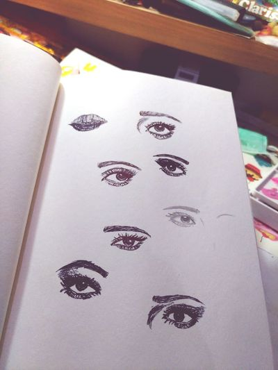 Eyeing you Eyes Sketches