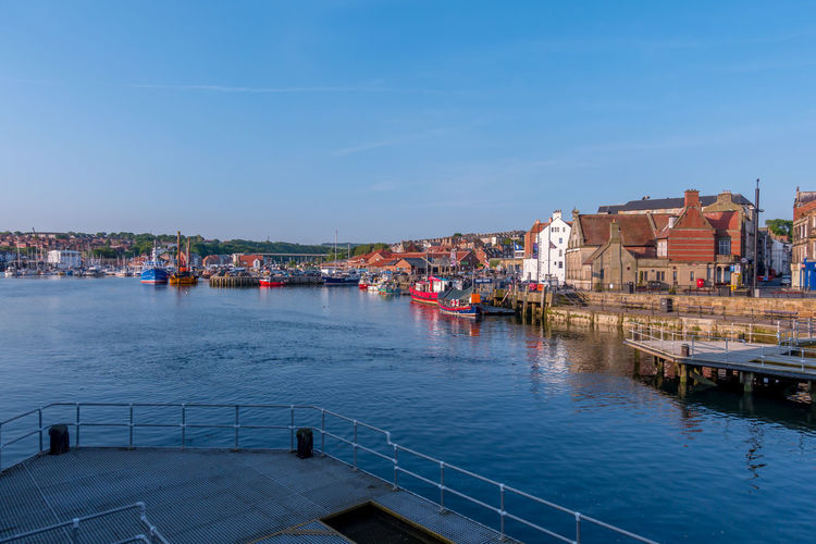 Whitby Whitby Harbour Whitby View Whitby North Yorkshire North Yorkshire North Yorkshire Coast Marina Boat Boats Ship Port Seaside Town Seaside Tourist Destination Sea Built Structure Waterfront Passenger Craft No People Reflection River Water Nautical Vessel Sky Building
