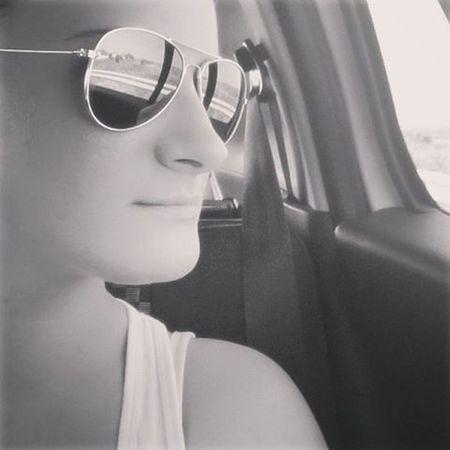 Selfportrait Blackandwhite Hotweather Summerday Summertimesadness Mik Ig_hun Insta_hun Selfie Sunglasses Pilot