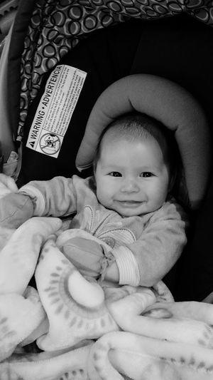 SMILING DORABELA 2 MONTHS OLD 2 Months Old :) Baby Girl