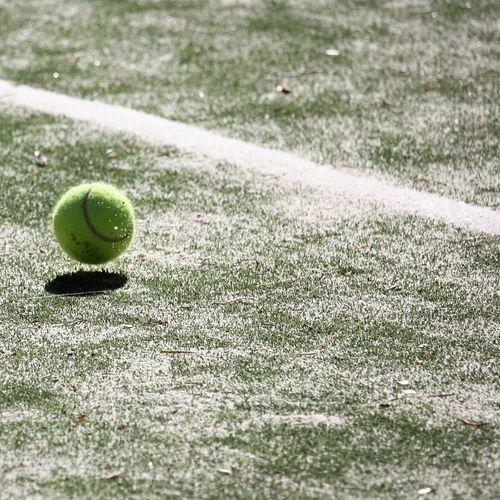 Close-up of ball