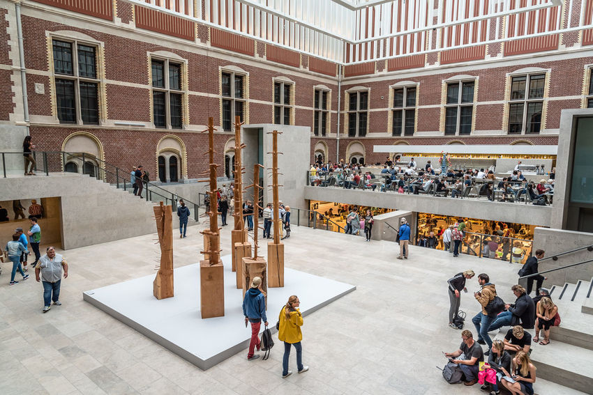 Amsterdam Architecture Art Arts Culture And Entertainment ArtWork Culture Entrance Europe Hall Indoors  Interior Landmark Large Group Of People Museum Netherlands Paintings People Rembrandt Rijksmuseum Tourist Attraction  Travel Travel Destinations Visitors