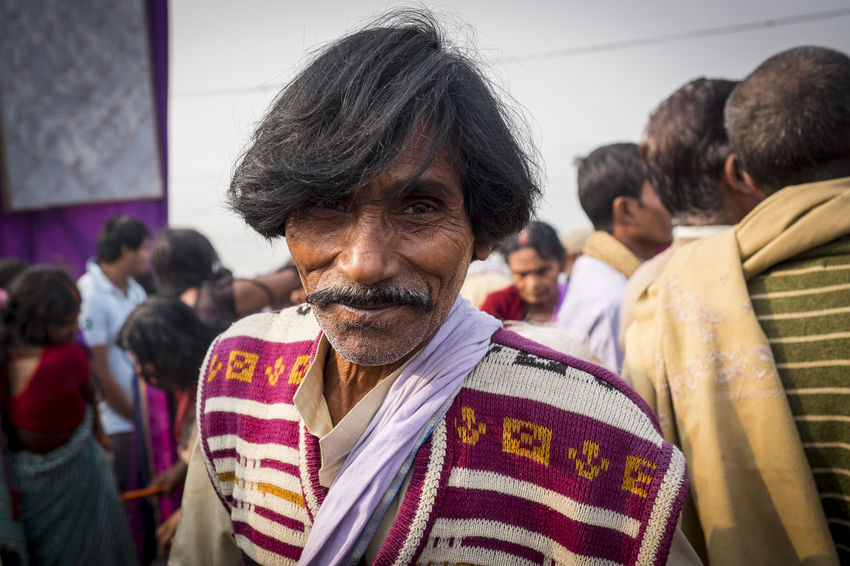 A portrait taken at the Sonepur Mela fetsival, Bihar Bihar Close-up Cultures Hajipur India Moustache Outdoor Photography Outdoors Portrait Portraits Scarf Smile Sonepur Sonepurmela Travel Travel Photography Travelphotography Travelportrait