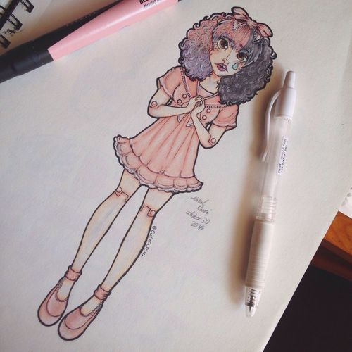 And here's a little drawing of Melanie Martinez which I hope u guys like😅😛 MelanieMartinez Melanie Melanie Martinez Singer  Drawing Girl Art ArtWork Animation Illustration Sketch Marker Inktober Anime Cartoon Hello World Hope You Like It. Pink Color Mine My Unique Style Sharpie Colors Music Awesome Doodle