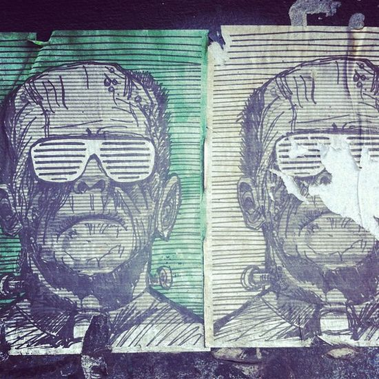 #frankenstein #frankenkanye #kanye #shuttershades #shades #sticker #art #graffiti #urbanart #urban #ny #nyc #newyork #newyorkcity #manhattan #bolts Newyork UrbanART Newyorkcity Kanye Frankenkanye Shuttershades Frankenstein Bolts NYC Graffiti Urban Art Sticker NY Shades Manhattan