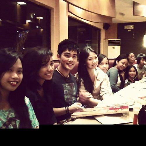 Saul Delaraga Cousins  Nephew  at PizzaHutBistro bonding time reunion