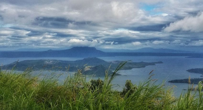 Tagaytay Taal Volcano Taal Lake TaaLview Topoftheworld Highland Amusementpark Beautifulscene Skyranch Philippines Samsung SamsungPrime A Bird's Eye View
