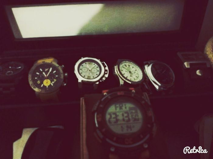My watch collection Enjoying Life