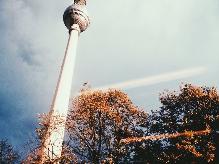 Fall Beauty My Fuckin Berlin Fernsehturm Lookingup Discover Berlin
