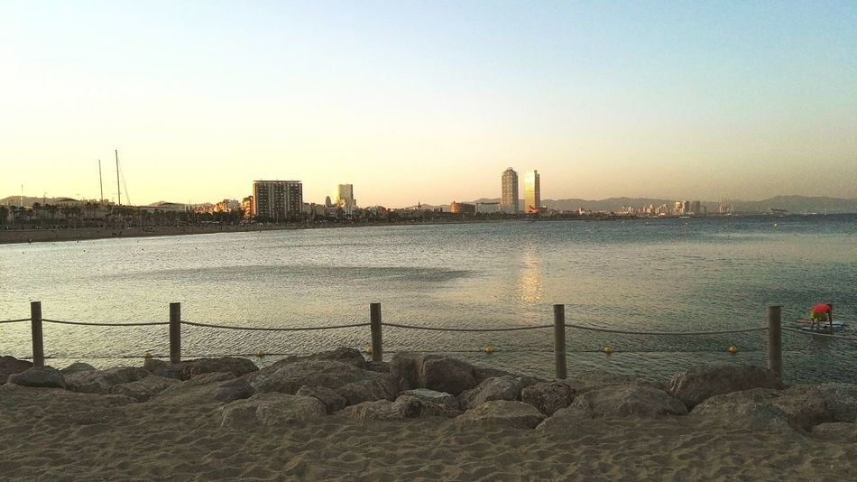 My Running View Barcelona Barcelonalove Life Is A Beach Urban Landscape Cityscapes Bcnfrontline Taking Photos Goodvibrations Thebcnpost