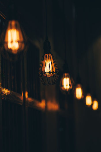 Bulb Light Fixture Ceiling Light Bulb Lantern Light - Natural Phenomenon Dark Decoration Close-up Pendant Light Focus On Foreground Indoors  Night Electric Lamp No People Glowing Electric Light Light Electricity  Hanging Illuminated Lighting Equipment EyeEm Selects