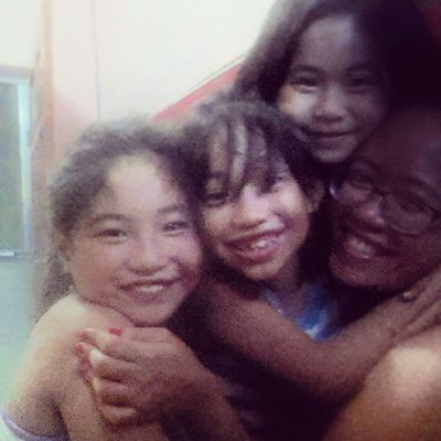 """""""Give tita a hug!"""" And they all go running towards me. My favorite part of the day. Gonna miss this kiddos. :) Kids Nieces Family Happy love home titaduties hugs ilovehugs givemeahug"""