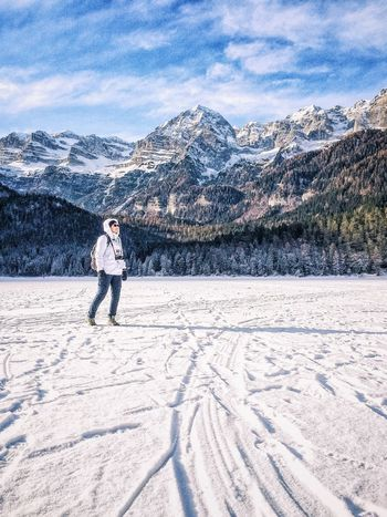 Running and dancing. It's Cold Outside Travel Photography Showcase: January Adventure Buddies The Tourist